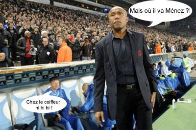 Antoine Kombouaré cherche Jérémy Menez