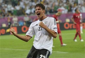 Mario Gomez à l'Euro 2012